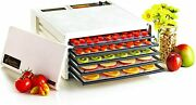 Excalibur Black Door Electric Food Dehydrator 5-tray White Discontinued By