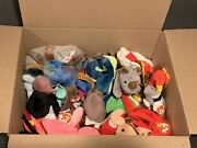 Vintage 1993-1997 Ty Beanie Babies Large Rare Retired Lot 6lbs
