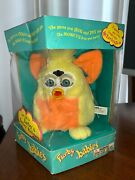 Vintage First Generation 1999 New In Box Furby Baby Sunny Yellow Model 70-940