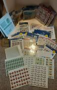 Clean Lot Of Unused Us Stamps Postage Over 345 Face Value-legends Of The West++