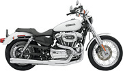 Road Rage 2-into-1 Long Megaphone Exhaust System - Harley Sportster Xl 2004-2013