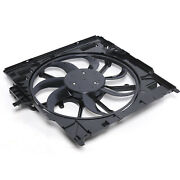 Fit For Bmw E70 X5 2007-2010 Electric Cooling Fan Assembly 17427598740 New