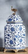 32cm Chinoiserie Jar Blue And White Chinese Porcelain Ginger Jar