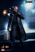 Hottoys Hot Toys Mms 169 The Avengers Nick Fury 1/6 12 Inch Figure New !