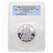 2020 Alderney And039the Three Gracesand039 2oz Silver Proof Five Pounds Pcgs Pr70 Graded