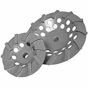 Diamond Products 22457 4-inch By 5/8-inch 11 Delux Cut Ring Turbo Cup Grinders