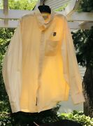 New Cutter And Buck Union Pacific Rr Railroad Xl Button Down Shirt Long Sleeves