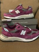 New Balance 992 Made In Usa Maroon Menand039s Sizes M992ba Brand New In Box