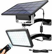 48 Led Solar Wall Light With Remote Control Security Light Outdoor Use