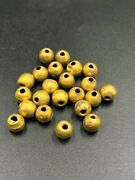 Old Antique Gold Jewelry Beads From Ancient Roman Greek Antiquities