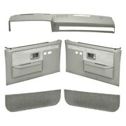 For Chevy Blazer 87-91 Coverlay Light Gray Interior Combo Kit Full Power Windows