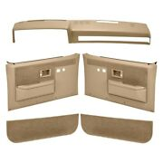 For Chevy R2500 Suburban 89-91 Coverlay Neutral Interior Combo Kit Power Locks