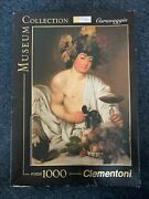 Caravaggio 1000 Puzzle Museum Collection Clementoni Jigsaw Complete
