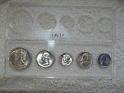 1943 Philadelphia Mint Set With Silver Nickel And Steel Cent