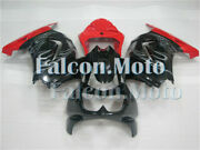 Abs Injection Fairing Fit For 2008-2012 Kawasaki Ninja 250r Ex250 Red Black New