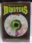 The Complete Series Monsters Rare Out Of Print