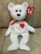 Ty Valentino Beanie Baby Limited Ed. Brown Nose 1993 With Hang Tag And Tush Tag
