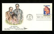 Us Fdc 2012 Gill Craft Gillcraft Cachet The Barrymores Lionel Ethel John 1982
