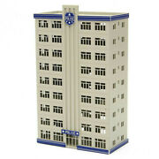 N Scale Outland Models Railroad Police Station /department Headquarter Building