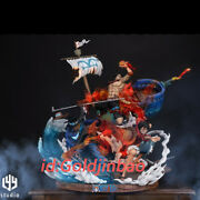 One Piece Luffy Ace Sabo Resin Model Pre-order Lyy Studio Three Brothers Anime