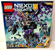 Lego Nexo Knights The Stone Colossus Of Ultimate Destruction 70356 Nisb