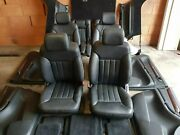 R1 Mercedes W251 R Class Set 6 Seats Complete Leather With Door Panel