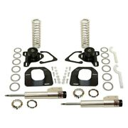 For Chevy Camaro 82-92 Pro-touring Front Coilover Kit W Qa1 Struts