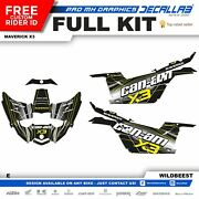 Can Am Maverick X3 Max Super Durable Stickers Graphics Decals Decallab