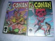 Conan The Barbarian. And039s 165 To 185.21 Lot Run.marvel Comics.december 1984 On.