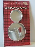 Vintage Kiddykook Aluminum Toy Cooking Set Pans For Play Stove