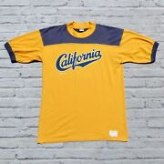 Vintage 1979 California Uc Berkeley Tshirt By Crazy Shirts Size L Made In Usa