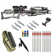 Tenpoint Viper S400 Ultimate Package - Soft Case 12 Arrows And Much More