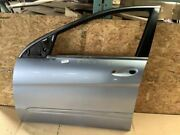 2006 2009 Mercedes R350 Front Left Driver Side Door Shell Cover Silver Metallic