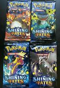 1x Pokemon Shining Fates Booster Pack 1 Pack Shiny - Brand New Factory Sealed
