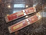 Mercedes 300sl Gullwing 1954-63 W198 Tail Light Lens Left Right Oem Euro Pair