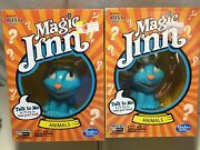 New ---lot Of 2--- Magic Jinn Game Hasbro Animals. Lots Of Fun For All Ages.