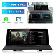 8-core Android 10 Car Gps Video Player Wireless Carplay For Bmw X3 E83 2004-2010