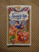 Walt Disneyand039s Snow White And The Seven Dwarfs Masterpiece Collection 1 Vhs