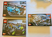 3 Lego Technic / 42037 / 42022 / 42050 / Kept Ina Showcase All Parts Are There