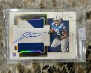 2020 Panini One Jonathan Taylor Premium Rookie Patch Auto Gold 3/10 Colts Rpa