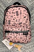 New Lesportsac Barbie Life Small Hollis Backpack 3418 G657 Pink / Black