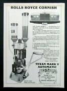 1977 Texan Reloaders Texan Mark V Automatic Reloader Magazine Ad
