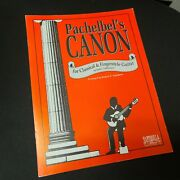 Pachelbeland039s Canon For Classical And Fingerstyle Guitar Robert Tarchara