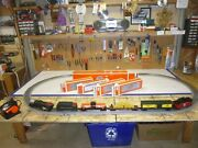 C-8 Lionel Three Rivers Steam Freight Train Set With Sound, Tested, Runs Good