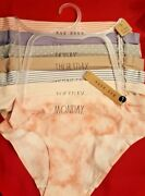 New Rae Dunn Panties 7 Pack Hipster🎁❤️no Show Sz L New W/tag