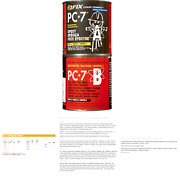 Pc Products Pc-7 Epoxy Adhesive Paste Two-part Heavy Duty 8lb In Two Cans ...