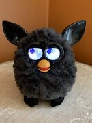 2012 Rare Hasbro Rare Black Bat Charcoal Furby A Mind Of Its Own Tested And Works