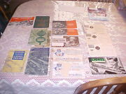 Lionel Postwar Assortment Of Instruction Books Which Came In Set Boxes 1946/60