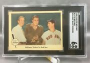 1959 Fleer Ted Williams 75 Value To Red Sox Babe Ruth Eddie Collins Sgc 6 Ex-nm
