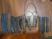 Vintage Used Atlas Used N Gauge Scale Track Lot 4 Switch/40 Curved/30 Straight